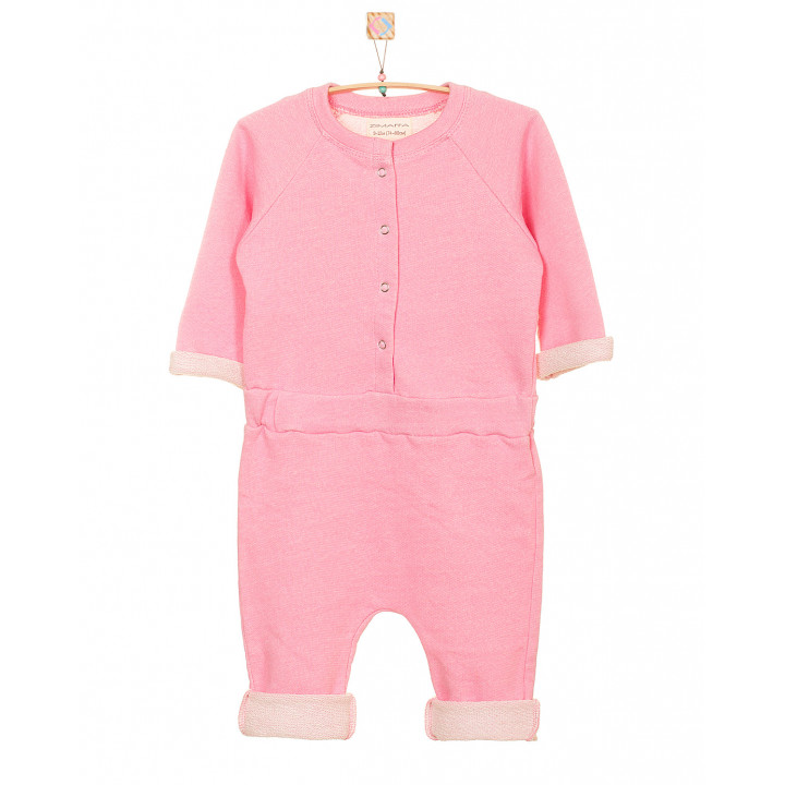 Детский комбинезон KMB001-3 розовый