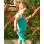 Детский комплект шорты и футболка (темно-ментоловый, персиковый) KMPL001-KtmenKper