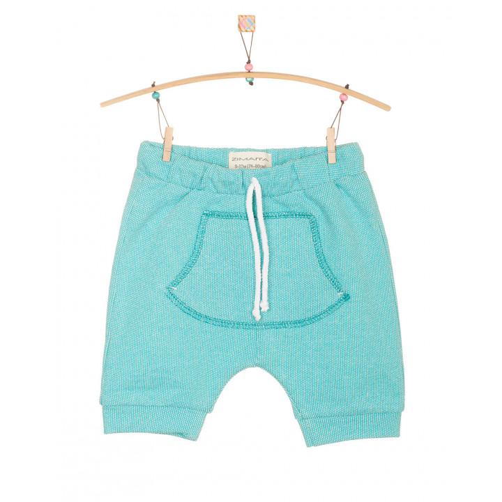 Детские шорты SH001-2Tmen ментоловые с кармашком