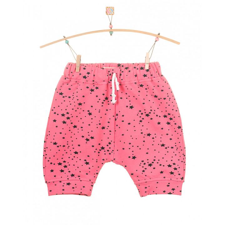 Детские шорты SH002-2rz розовые звезда