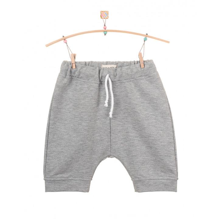 Детские шорты SH002-2sm серый меланж