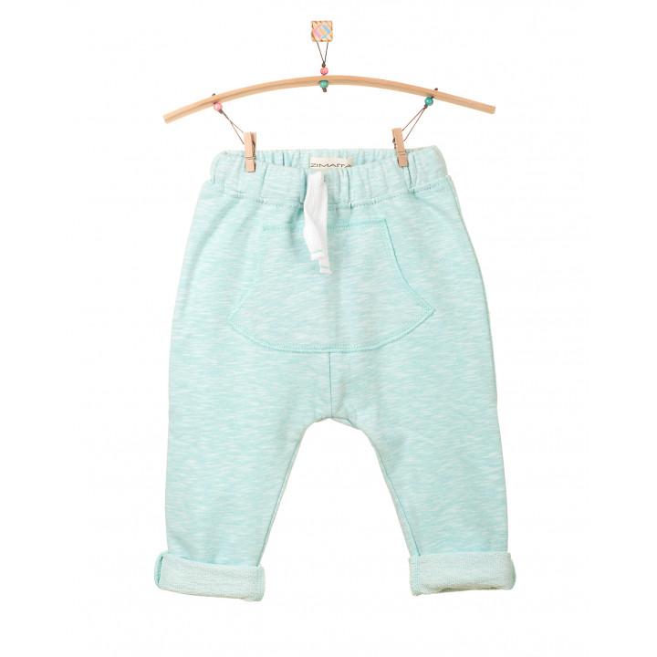 Детские штаны нежно-ментоловые с кармашком SHT002-3SHnmen
