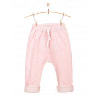 Детские штаны нежно-розовые с кармашком SHT002-3SHnr