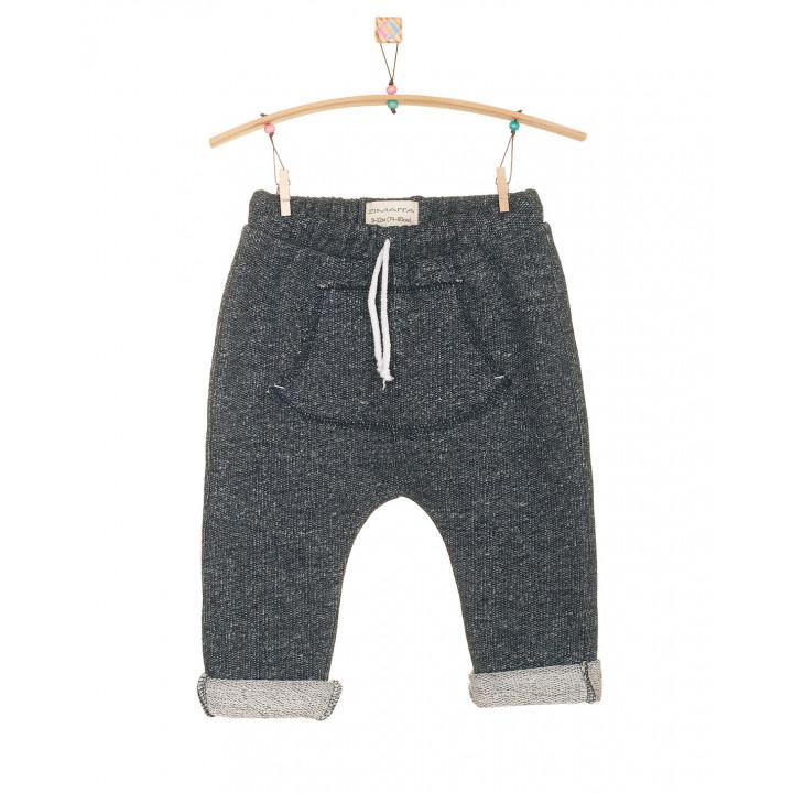 Детские штаны SHT002 темно-синие с кармашком