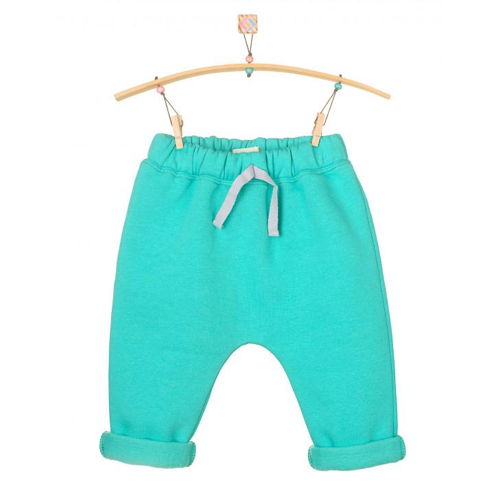 Детские тёплые штаны с начесом ментоловые SHT004-3Nmen