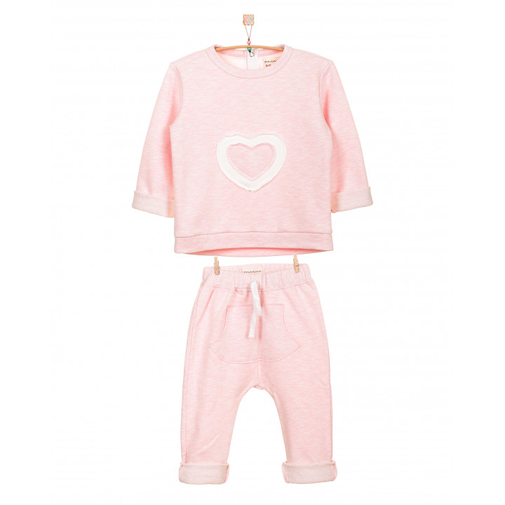 Детский спортивный костюм SK002-3SHnr нежно-розовый