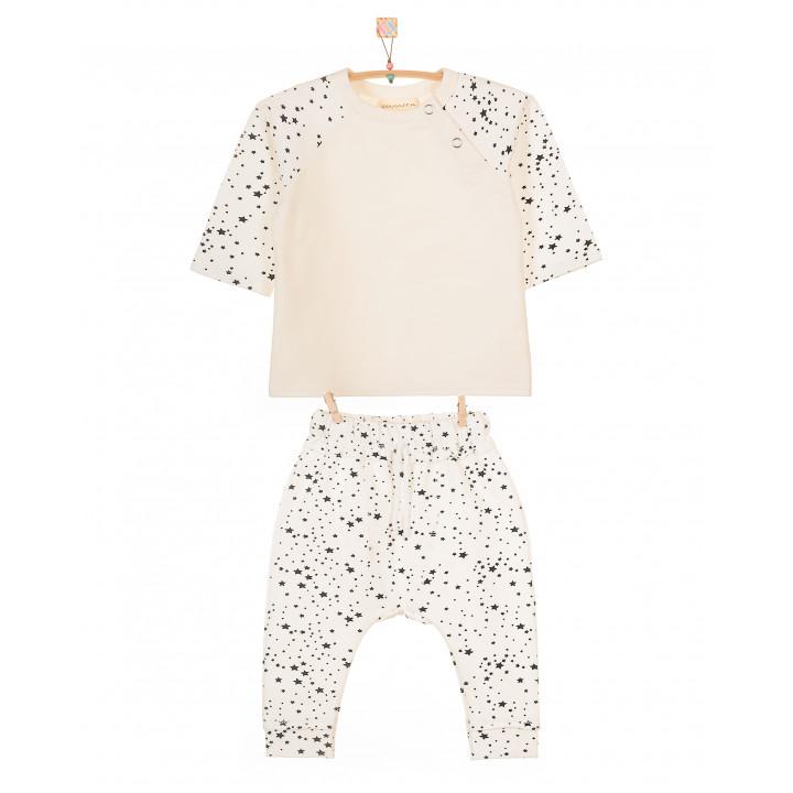 Детский костюм SK005 (молочный, звезды)