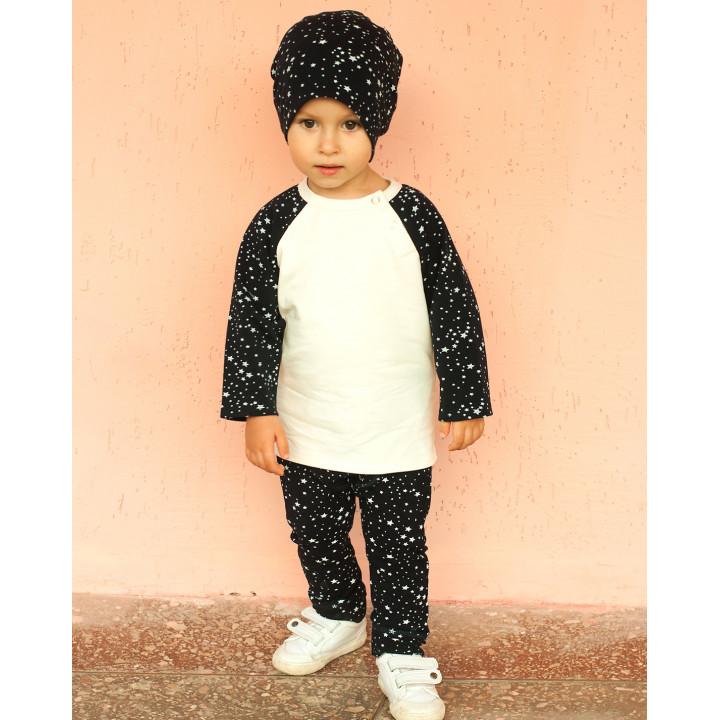Детский костюм SK005 (темно-синий, звезды)