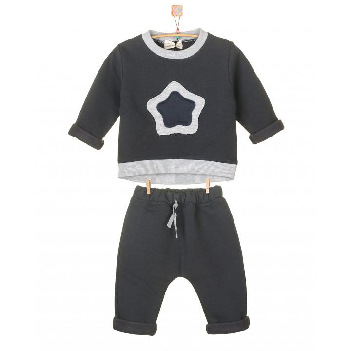Детский спортивный костюм SK007-3Ngraf графит