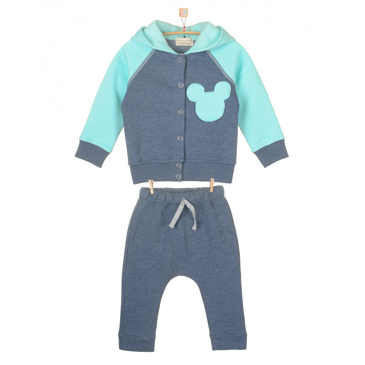 Детский тёплый спортивный костюм с начёсом SK008-3Nsinm3Nneb